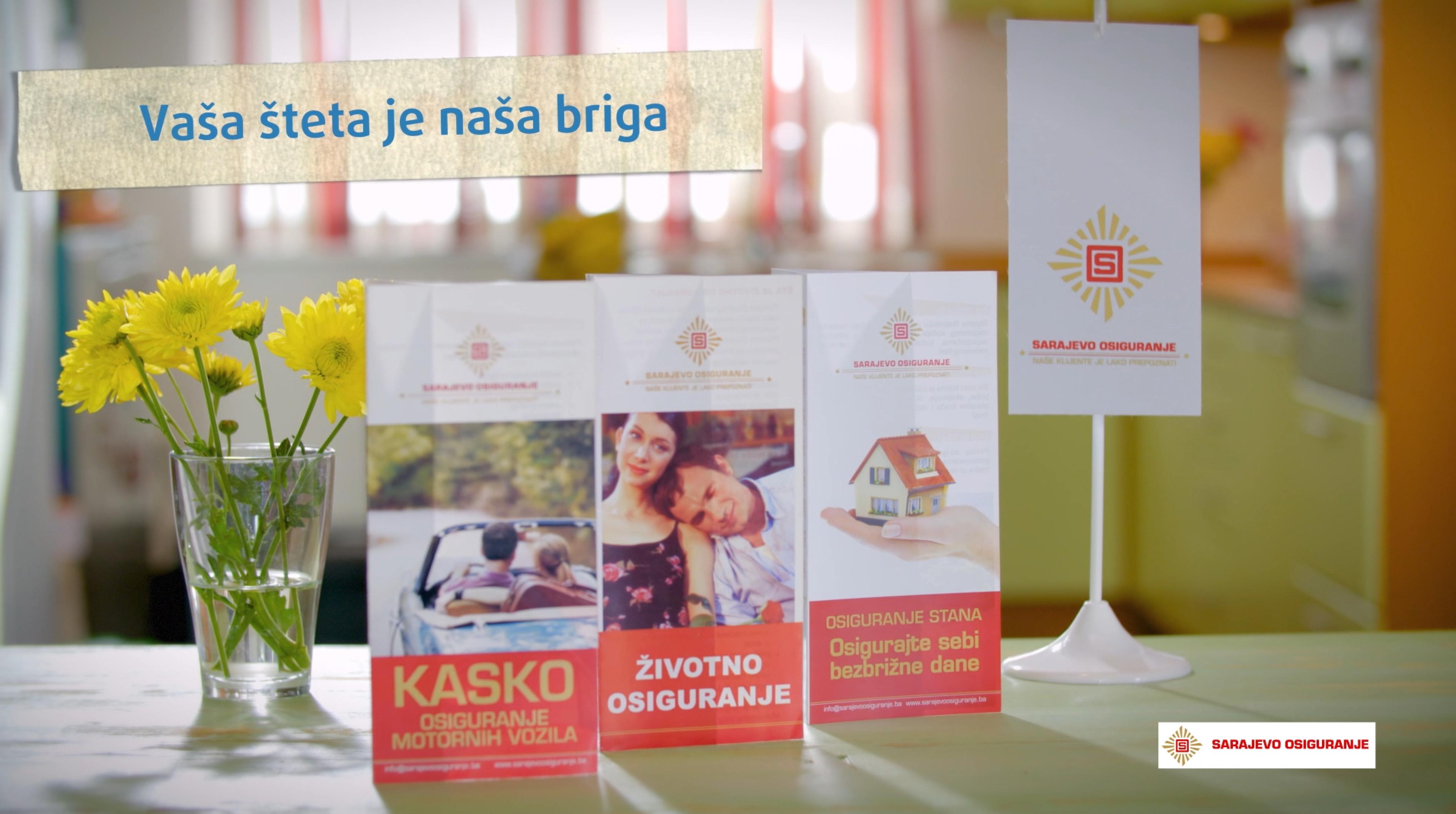 """Sarajevo-osiguranje u kampanji """"Na stranu strano, domaće je jače"""""""