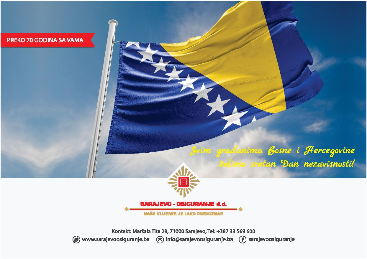 Čestitka povodom Dana nezavisnosti BiH