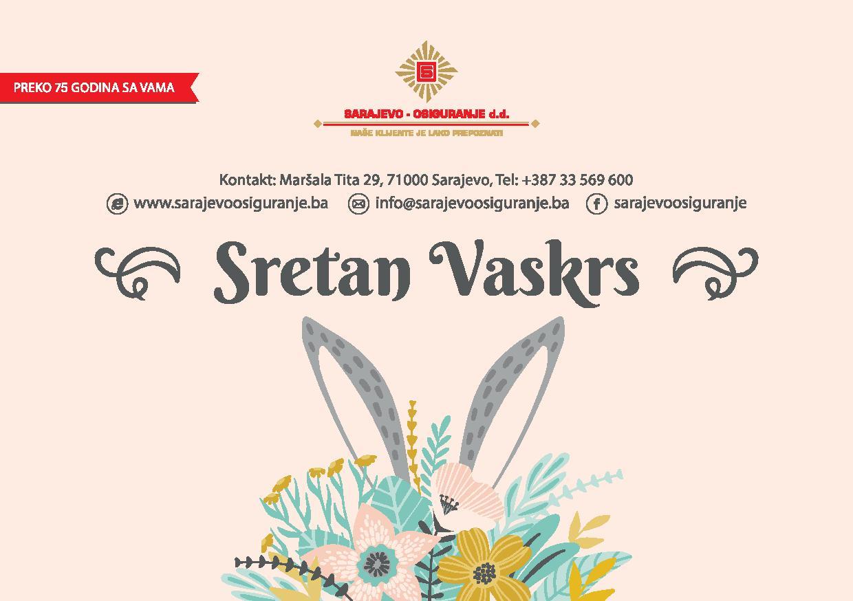 Čestitka povodom Vaskrsa